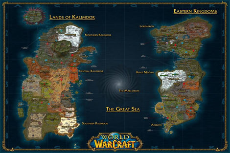 World of Warcraft Wall Poster