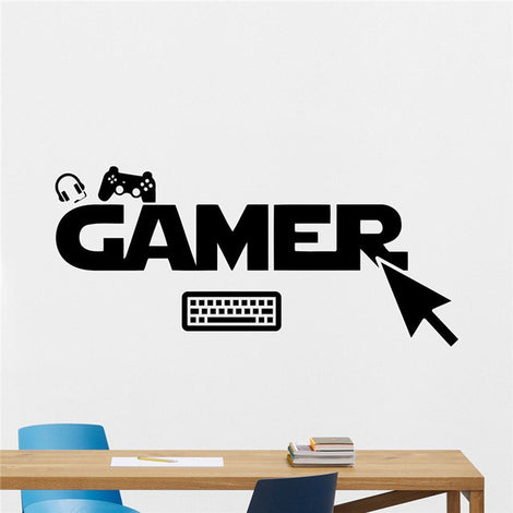 Gamer Wall Sticker Decal