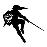 Zelda Link with Sword and Shield Car-Styling Stickers Decals