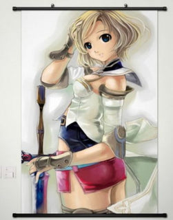 Final Fantasy XII Princess Ashe Wall Scroll