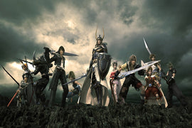 Final Fantasy Dissidia Heroes Game Poster