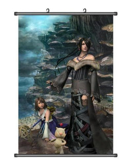 Final Fantasy X Lulu and Yuna Wall Scroll Poster