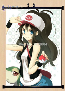 Japanese Wall Scroll Poster Pokemon Female Trainer