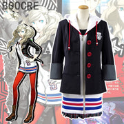 MegaTen Persona 5 Anne Takamaki Dress Halloween Party Cosplay Costume Custom Hoody