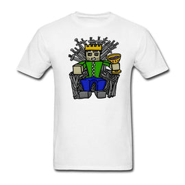 Minecraft Game Of Thrones Crossover Cotton T-Shirt