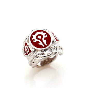 World of Warcraft Horde 316L Stainless Steel Men's Ring