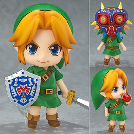 The Legend of Zelda Link Majora's Mask PVC Action Figure Collectible Model Toy 4""