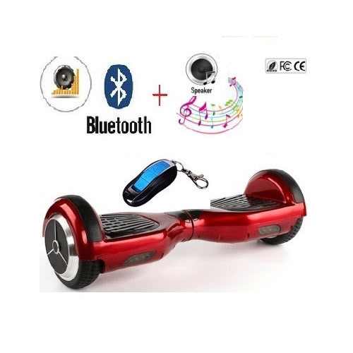 6.5 inch self balancing scooter electric skateboard hoverboard bluetooth 2 wheel smart balance scooter electric skate oxboard