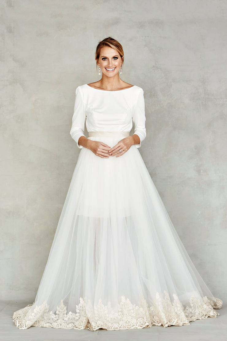 Dana Graham Bridal Collection Skirt Style 4206 - Chicago Bridal Store Company