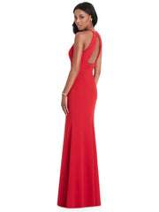 Halter Formal Dress Style 6798 - Chicago Bridal Store Company