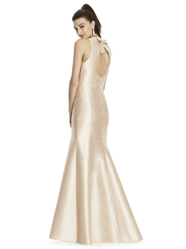 Trumpet Full Length  Bridesmaids Dress  D734 - Chicago Bridal Store Company