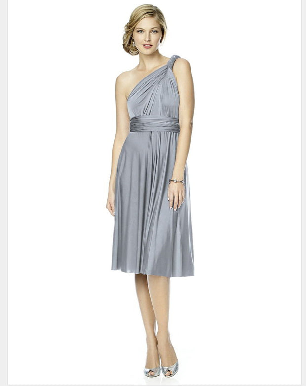 Twist Wrap Dress - Chicago Bridal Store Company