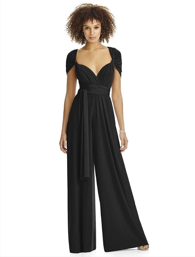 Twist Wrap Jumpsuit - Chicago Bridal Store Company