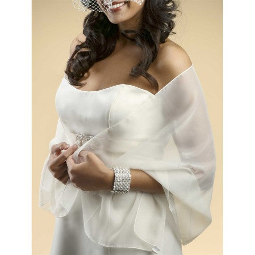 Chiffon Shawl ~ 30 Color - Chicago Bridal Store Company