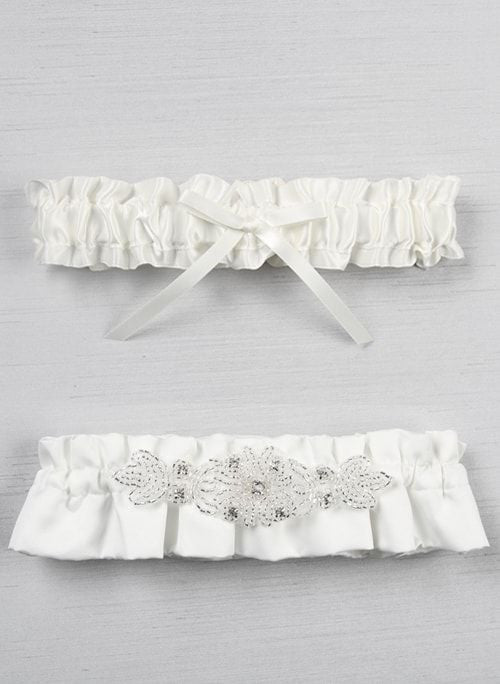 Adriana Bridal Garter Set - Chicago Bridal Store Company
