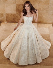 Marisol Gown- Couture Damour MB4076 - Chicago Bridal Store Company