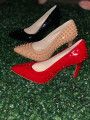 Miss Betsy Shoe - Color Red - Chicago Bridal Store Company