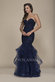 Navy Mermaid Dress  Luxury Collection - Chicago Bridal Store Company