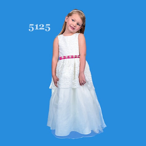 Flower Girl 5125 - Chicago Bridal Store Company