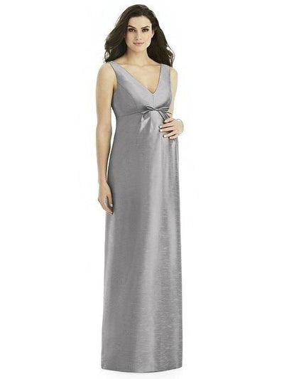 Alfred Sung Maternity Dress D437 - Chicago Bridal Store Company