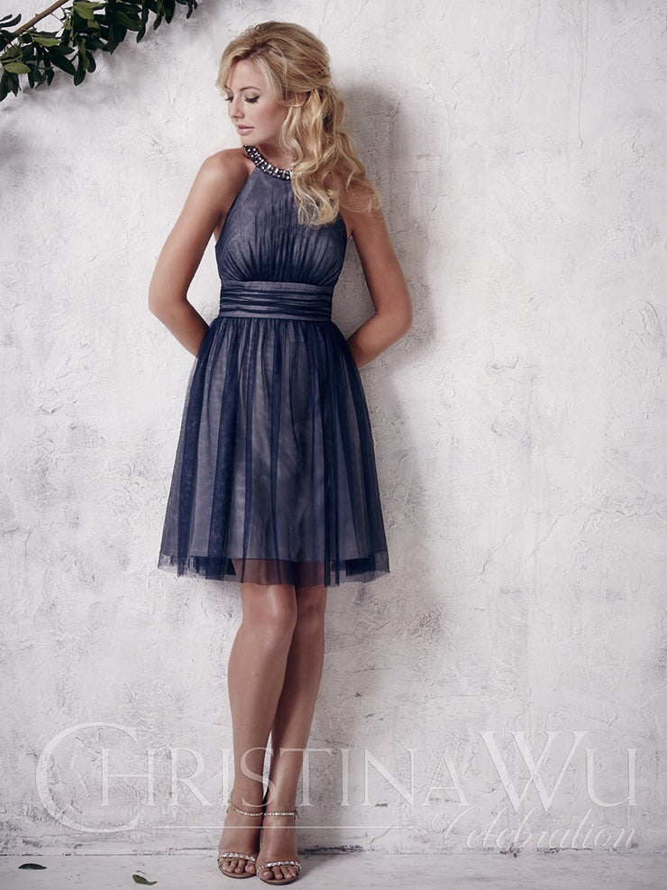 Christina Wu Celebration Bridesmaid Dress 22661 - Chicago Bridal Store Company