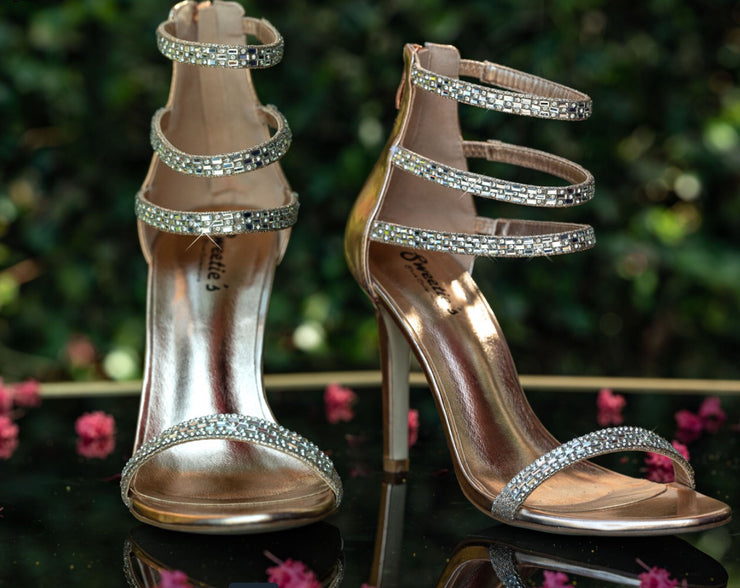 Miss Paris Sliver Shoe - Chicago Bridal Store Company