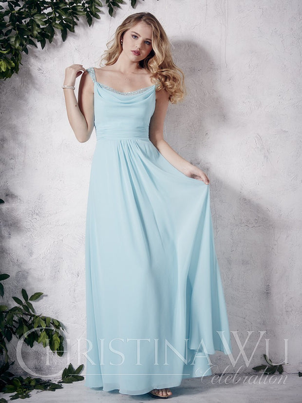 Christina Wu Celebration Bridesmaid Dress 22655 - Chicago Bridal Store Company