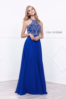 Royal Blue 2018 Prom Dress
