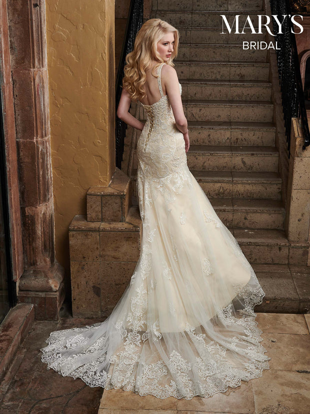 Vintage Inspired SOPHIA Tulle Mermaid Wedding Dress - Chicago Bridal Store Company