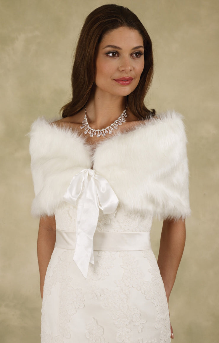 Enchanted Fur Cape 2107 M7107 - Chicago Bridal Store Company