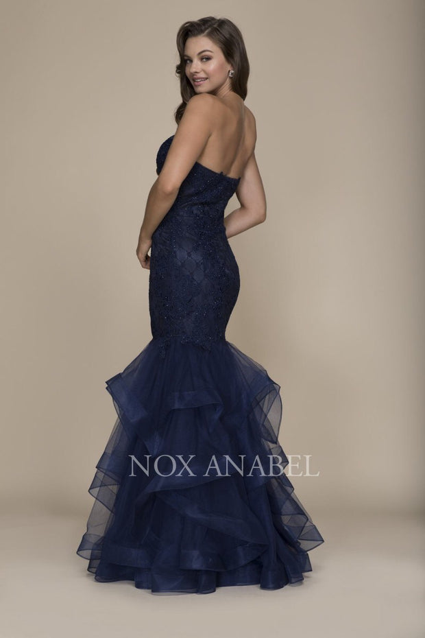 Navy Mermaid Dress 2018 Luxury Collection - Chicago Bridal Store Company