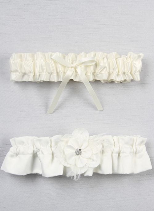 Somerset Garter Ivory or White