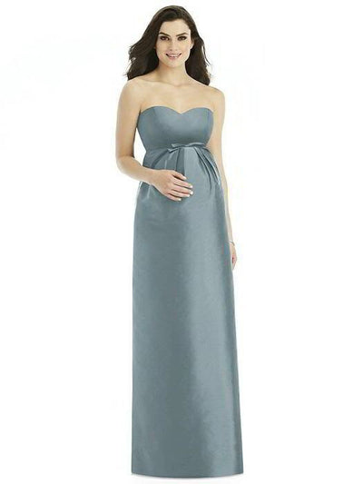 Alfred Sung Maternity Dress M435 - Chicago Bridal Store Company