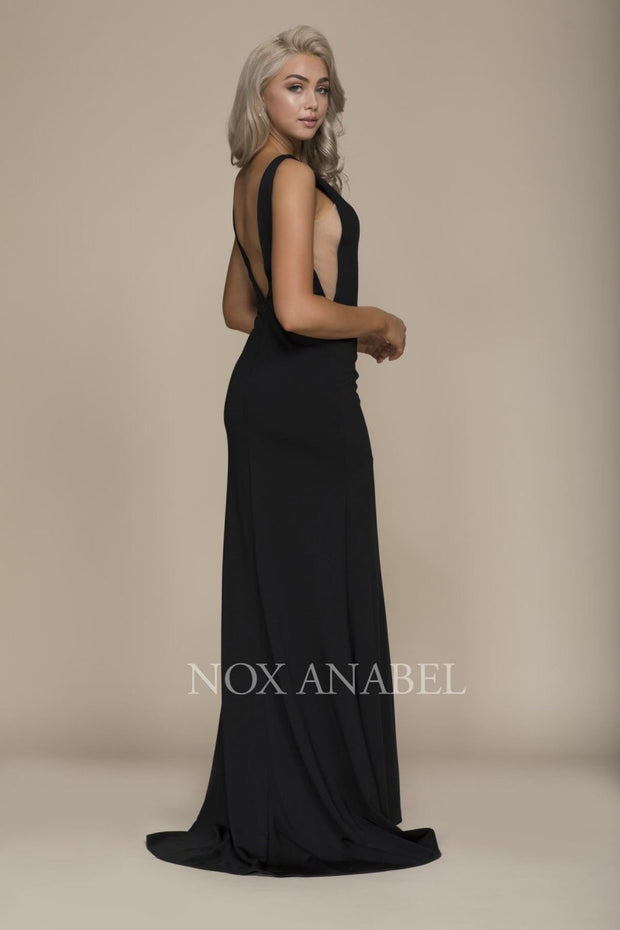 Black Long Prom Dress - Chicago Bridal Store Company