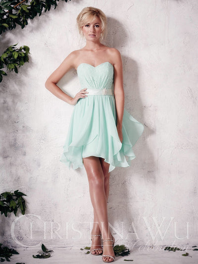 Christina Wu Celebration Bridesmaid Dress 22653 - Chicago Bridal Store Company