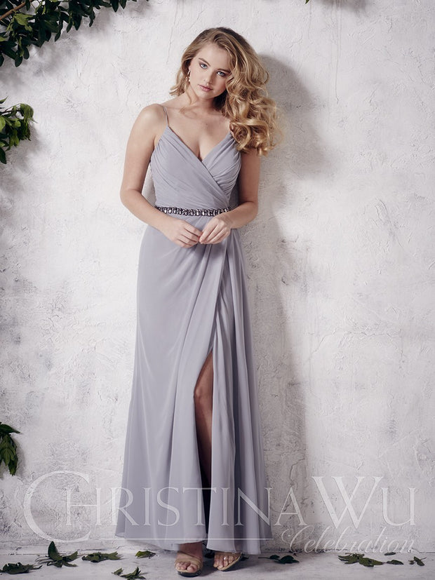 Christina Wu Celebration Bridesmaid Dress 22659 - Chicago Bridal Store Company