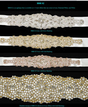 Bling Rhinestone Bridal Belt ~Style Bride-002 - Chicago Bridal Store Company