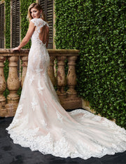 Ashlee Gown-  Couture Damour MB4073 - Chicago Bridal Store Company