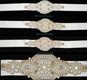 Bling Rhinestone Bridal Belt ~ Style Bride-005 - Chicago Bridal Store Company