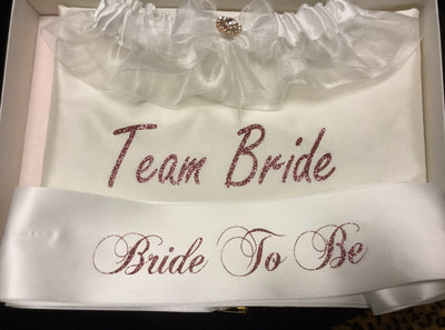 Rose Gold Team Bride Set