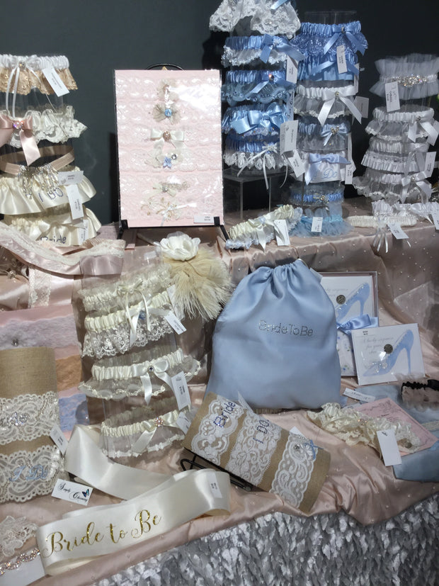 Something Blue Bride to Be Bag - Chicago Bridal Store Company