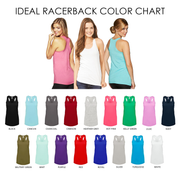 Tribal Bride & Bride Squad Racerback Tank Top - Chicago Bridal Store Company