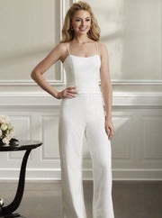 The Paisley Pantsuit by Christina Wu - Chicago Bridal Store Company