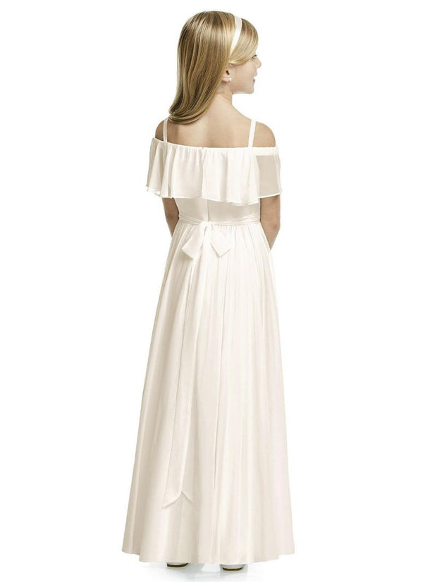 Off Shoulder Flower Girl Dress FL4053 - Chicago Bridal Store Company