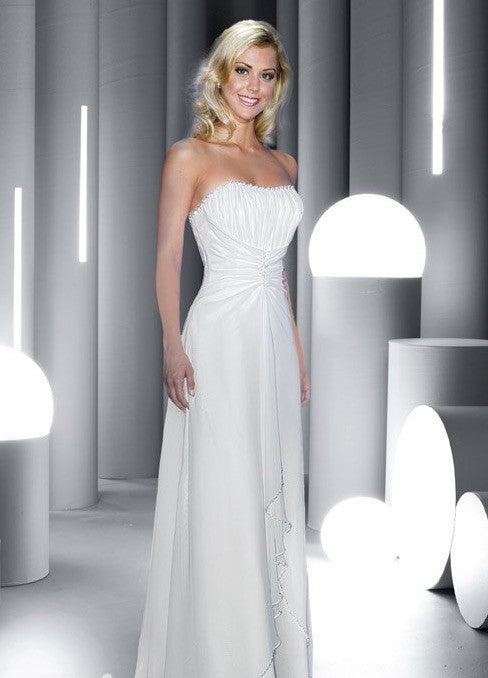 Destiny Impression 4871 Wedding dress white, ivory Chicagobridalstore.com