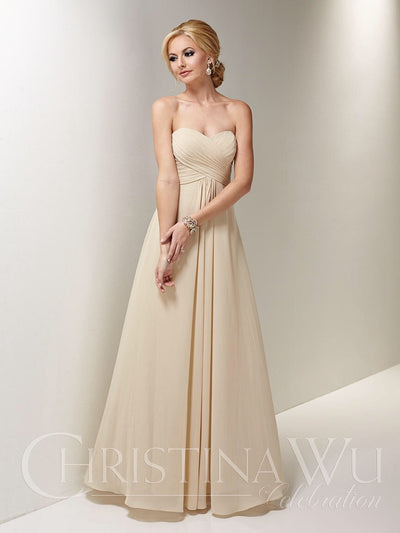 Christina Wu Celebration Bridesmaid Dress 22663 - Chicago Bridal Store Company