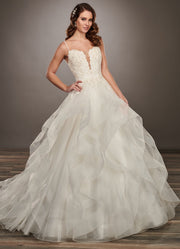 Amasle Gown- Couture Damour MB4068 - Chicago Bridal Store Company