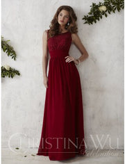 Christina WU Dress STYLE 22675 - Chicago Bridal Store Company