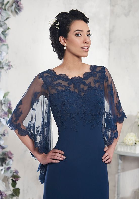 Lace Bell Sleeved Mother's of Bride/Groom - Chicago Bridal Store Company