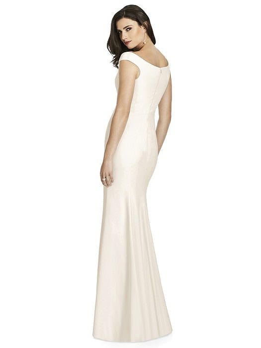 Off Shoulder Full Length Formal Gown - Chicago Bridal Store Company